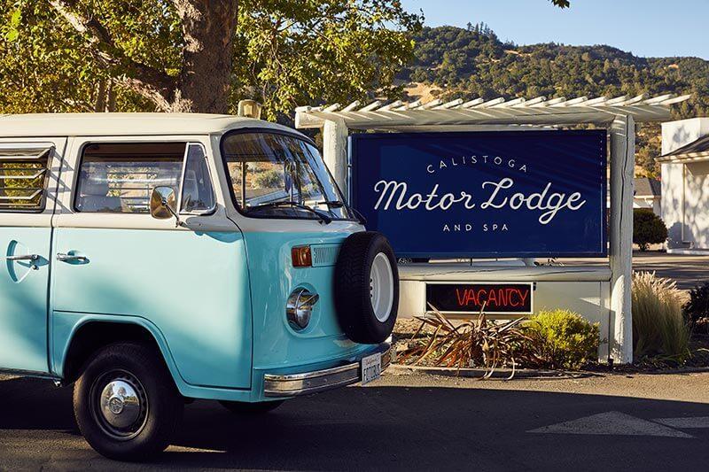 Calistoga Motor Lodge and Spa