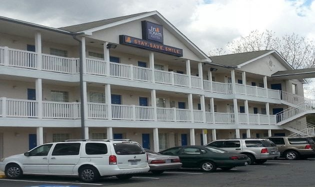 InTown Suites Extended Stay Charlotte NC -East Independence