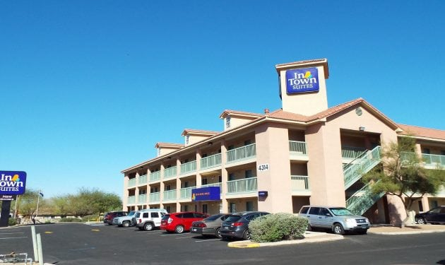 InTown Suites Extended Stay Tucson AZ