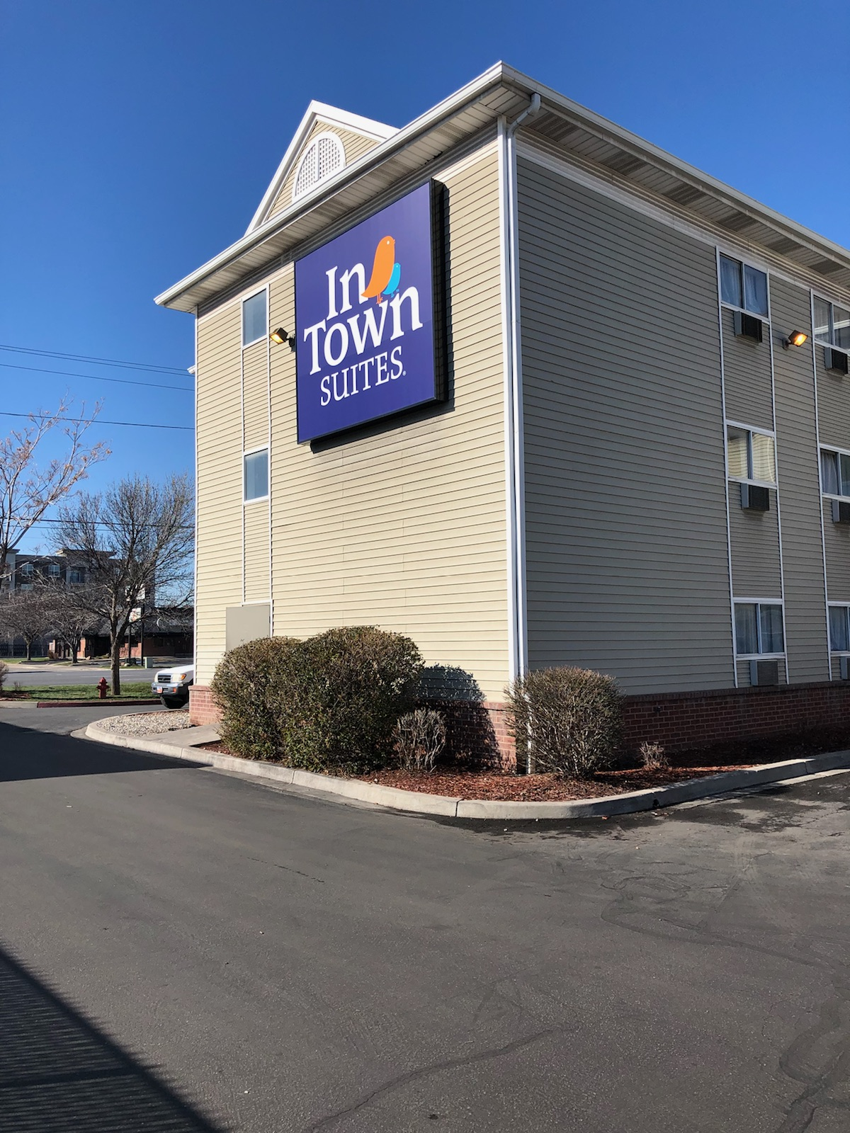 InTown Suites Extended Stay Salt Lake City UT - South