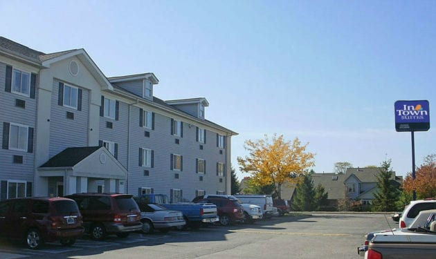 InTown Suites Extended Stay Indianapolis IN - Greenwood