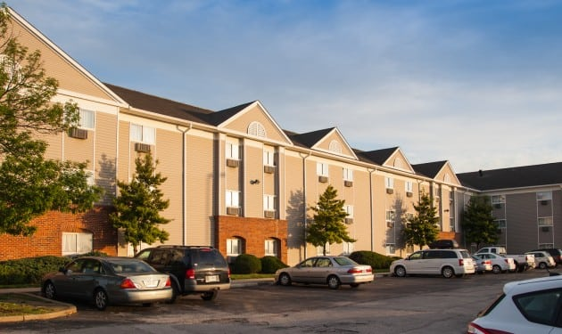 InTown Suites Extended Stay St. Louis MO - St. Charles