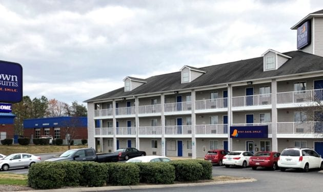 InTown Suites Extended Stay Chattanooga TN - Gunbarrel