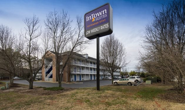 InTown Suites Extended Stay Newport News VA - South